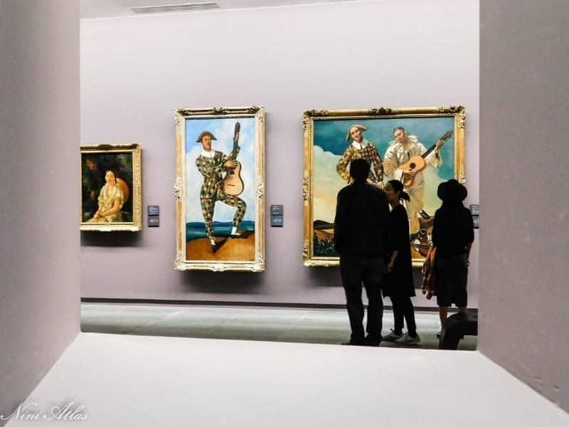 מוזיאון האורנז'רי. צילמה ניני אטלס.