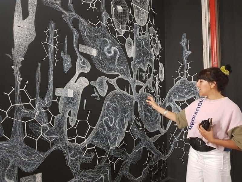 עוד תמונה מהתערוכה בפאלה דה טוקיו.