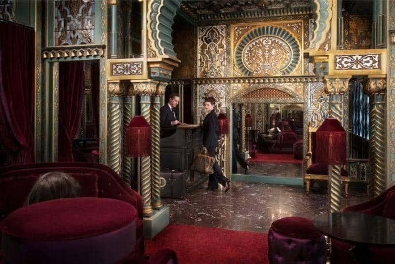 הלובי של המלון. צילום: Maison Souquet