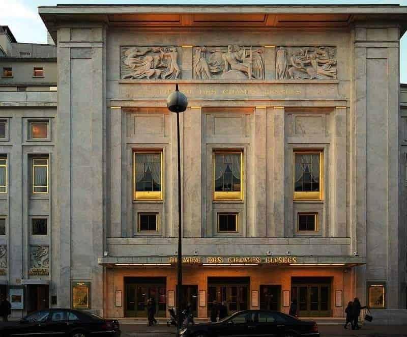 תיאטרון השאנז אליזה. מקור צילום: ויקיפדיה
