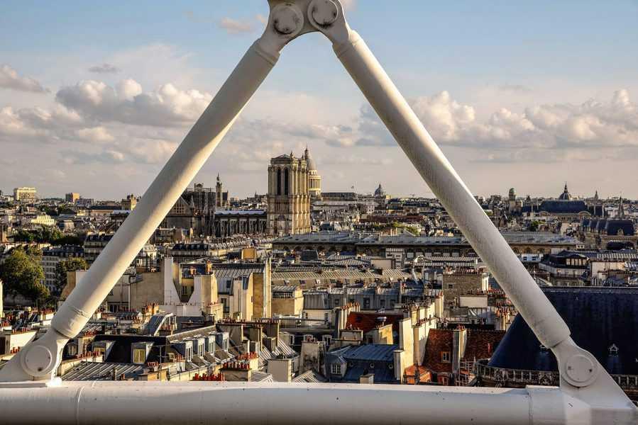 נוף עוצר נשימה מקומת הגג. צילם: יואל תמנליס