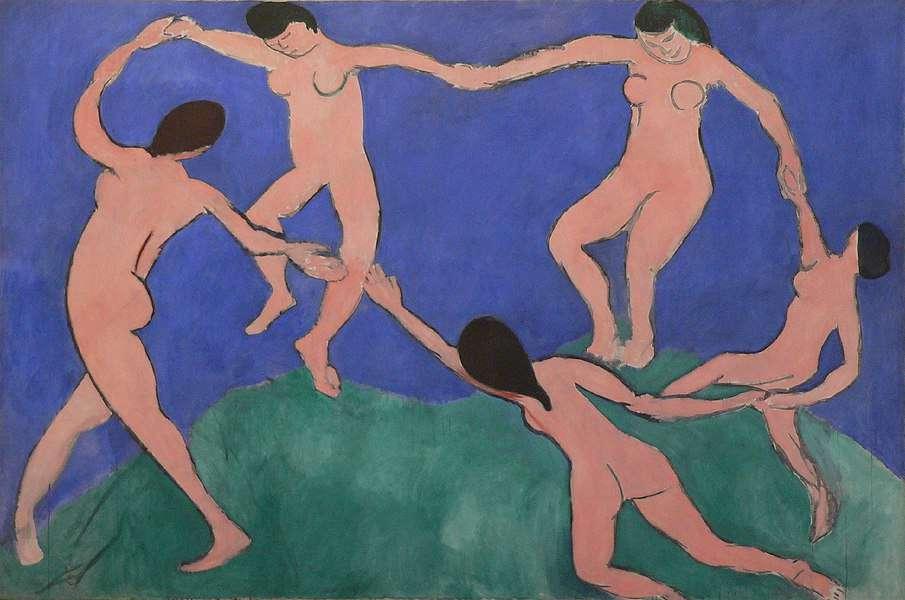 """""""הריקוד"""" מאת אנרי מאטיס. מקור תמונה: ויקיפדיה"""