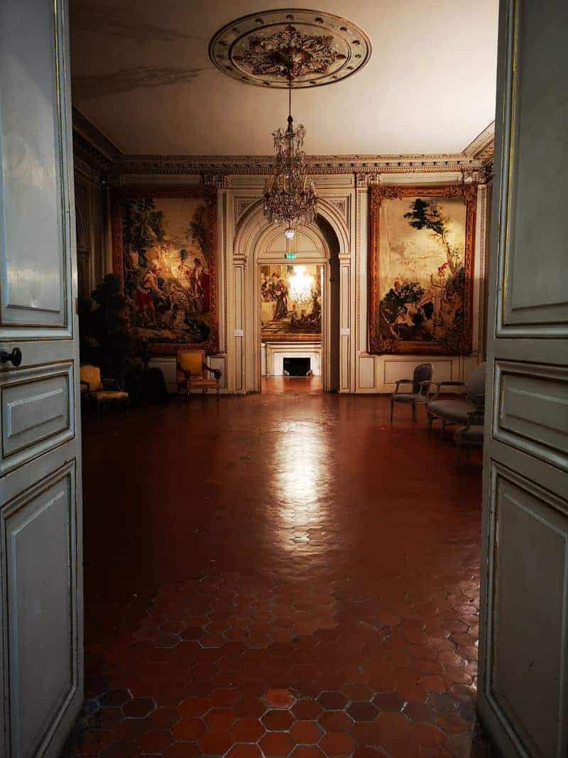 מוזיאון הגובלנים בארמון הארכיבישוף של אקס. צילם: צבי חזנוב