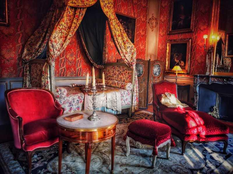 אחד החדרים המפוארים ב Hotel de Caumont. צילם: צבי חזנוב