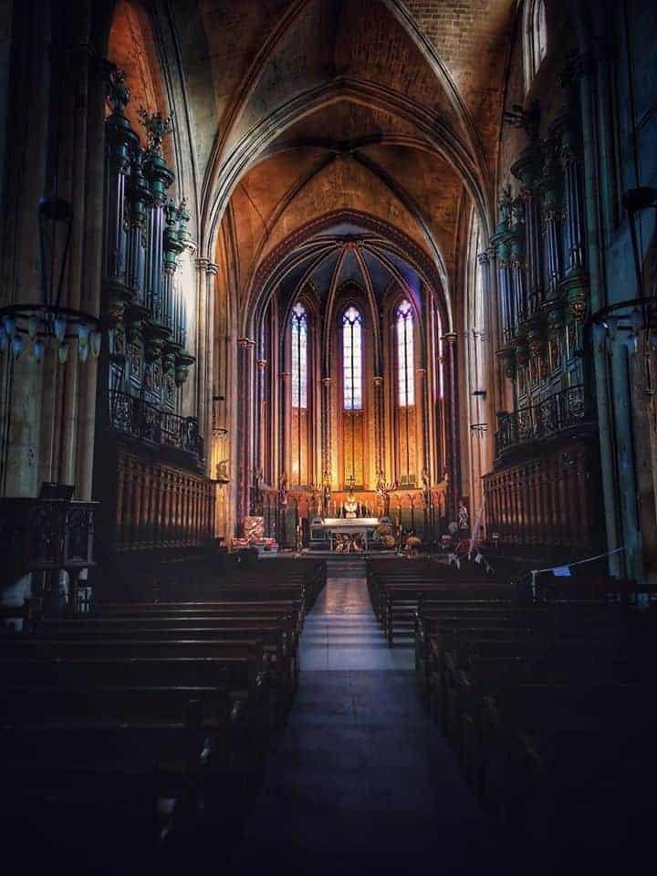 הקתדרלה של אקס. מבט מבפנים. צילם: צבי חזנוב