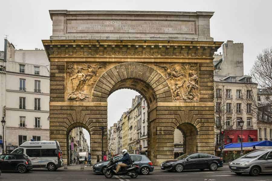פורט סן מרטן (Porte Saint Martin). צילם: יואל תמנליס