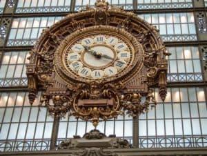 השעון של מוזיאון ד'אורסה. צילום: יואל תמנליס