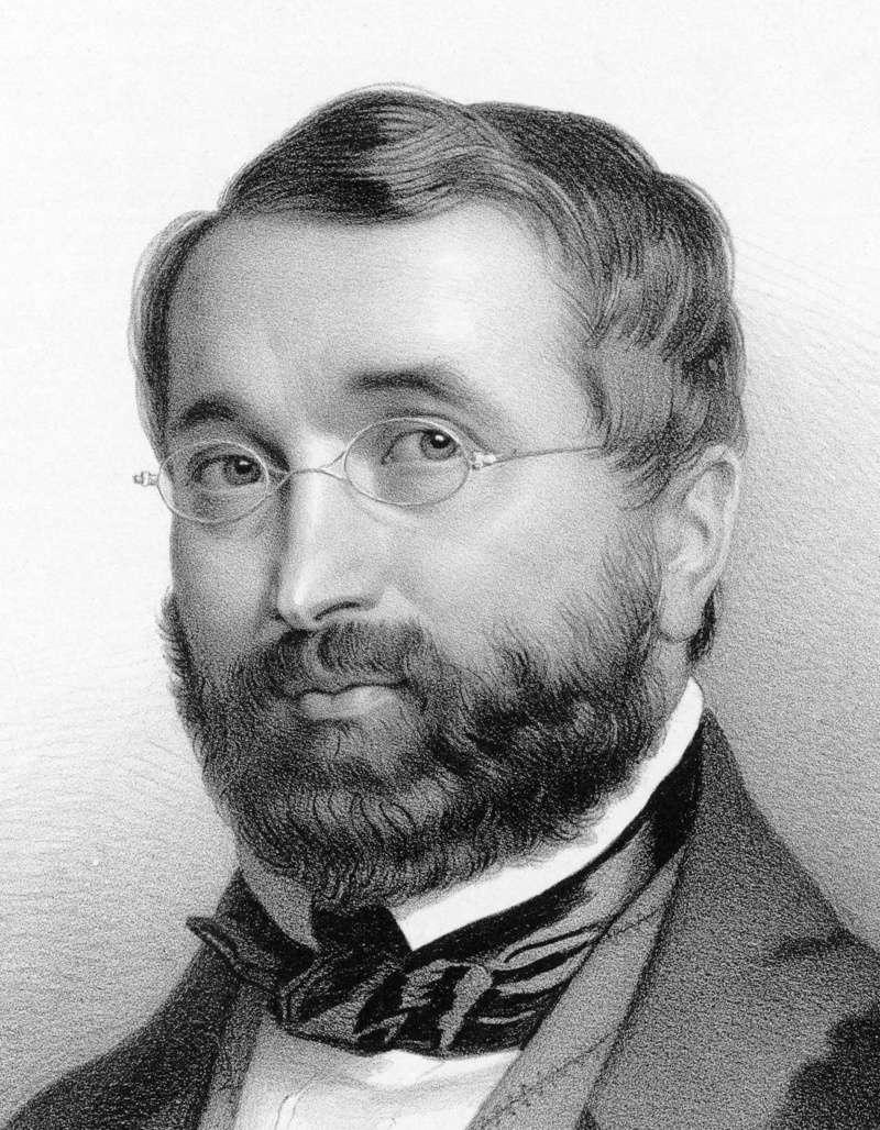 אדולף אדם המלחין של הבלט ג'יזל. מקור תמונה: ויקיפדיה.