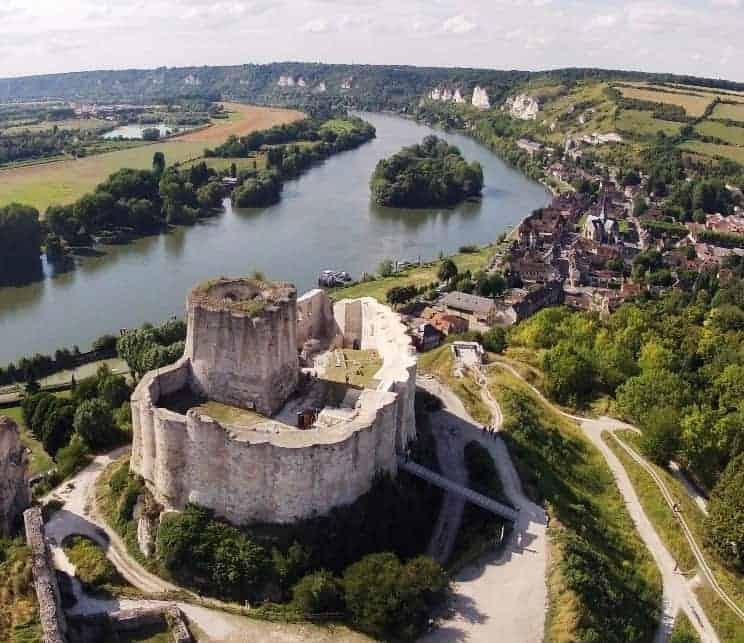 שאטו גאייר. צילמה Sylvain Verlaine. מקור צילום: ויקיפדיה.