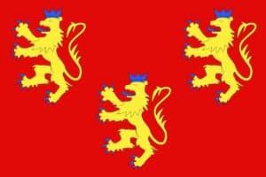 הדגל של מחוז דורדון (פריגור). מקור: ויקיפדיה.
