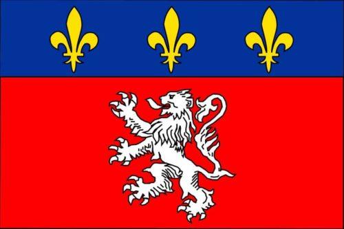 הדגל של ליון. מקור: ויקיפדיה.