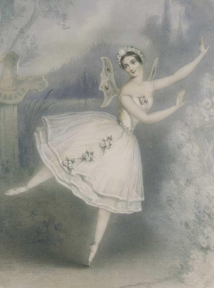 קרלוטה גריזי בתפקיד ג'יזל. מקור תמונה: ויקיפדיה.