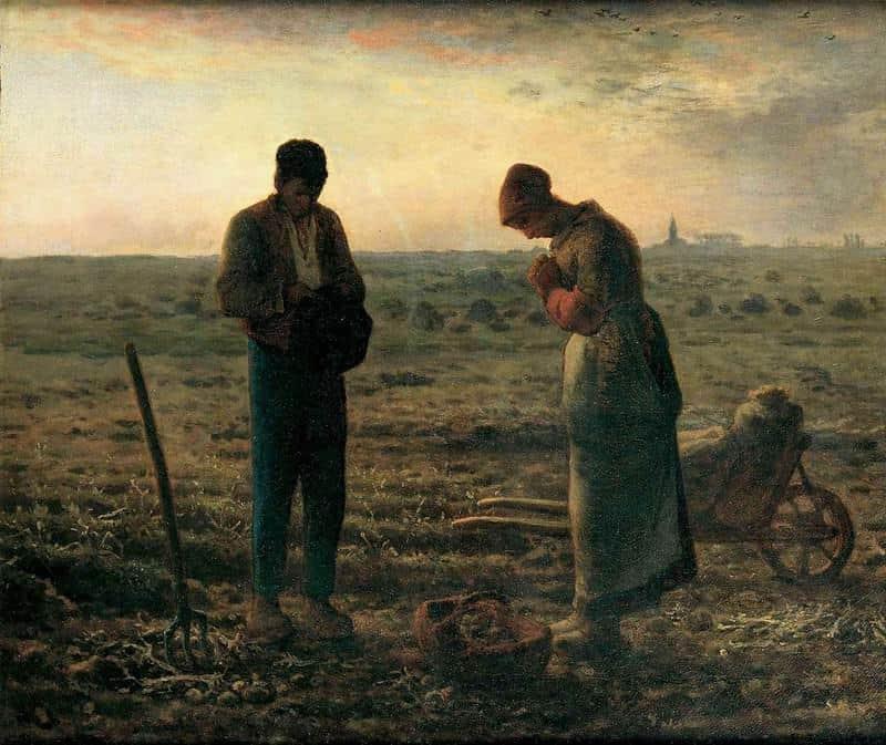תפילת האנגלוס מאת מילה. מקור תמונה ויקיפדיה.