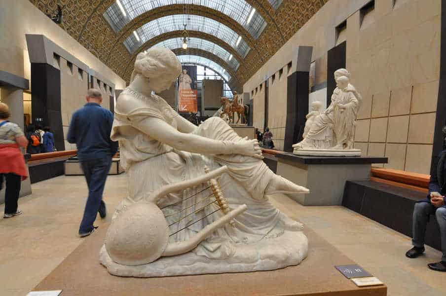 הפסל של סאפפו מאת ג'ימס פראדייה. מקור צילום: ויקיפדיה.