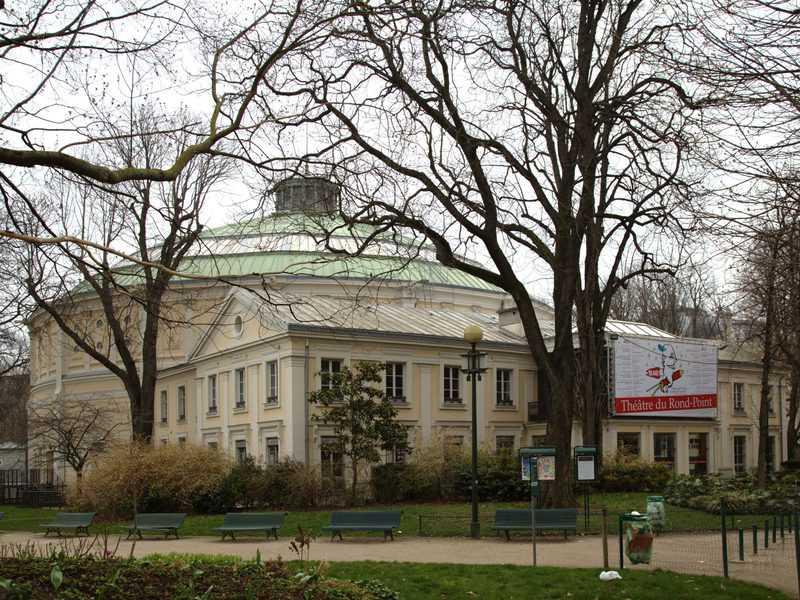 Theatre du rond point. צילם: Ralf.treinen. מקור צילום: ויקיפדיה.