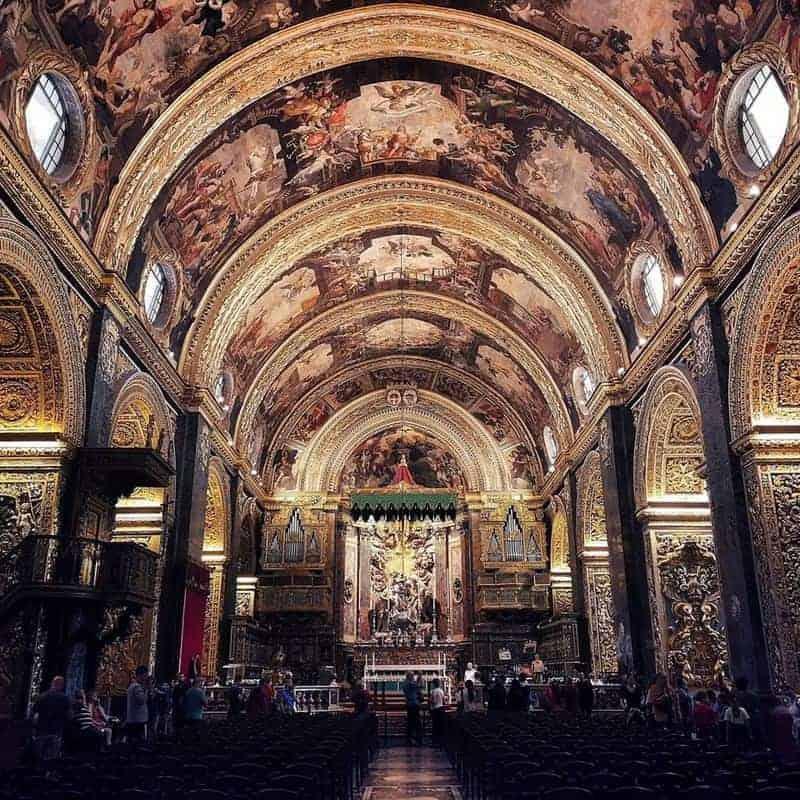 קתדרלת סן ג'ון בעיר ולטה שבמלטה. צילם: צבי חזנוב