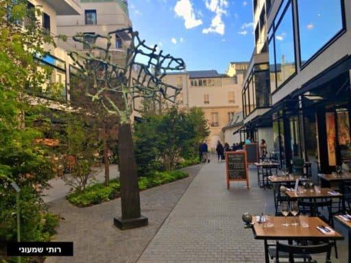 בּוֹ פָּסַאז' (Beaupassage) מתחם אומנות החיים הטובים של פריז מאת רותי שמעוני