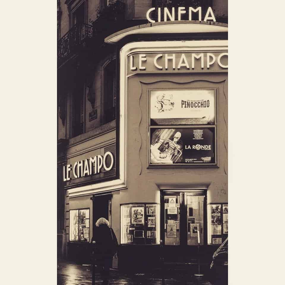 בית הקולנוע Le Champo. צילם: לירן הוטמכר