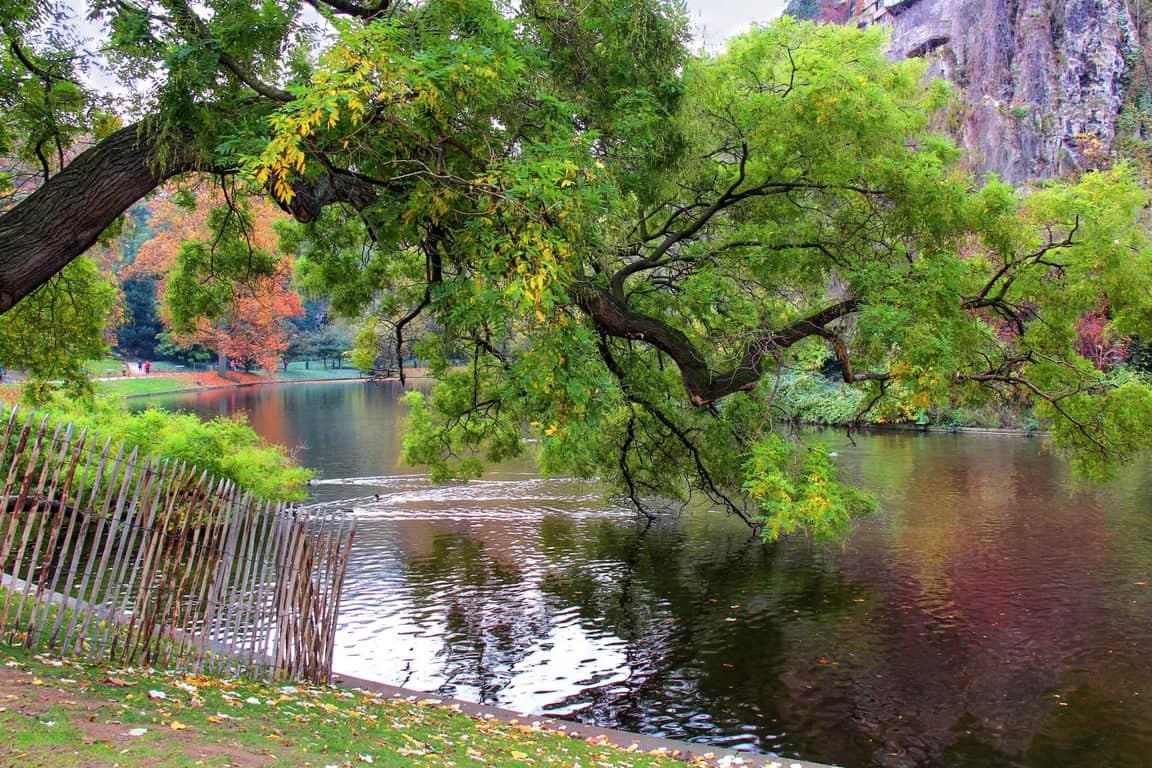 האגם של בוט שומון. צילם: יואל תמנליס.