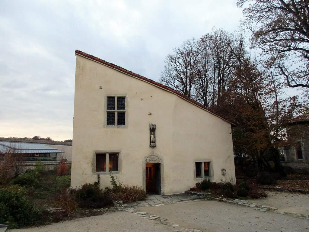 הבית שבו נולדה ז'אן ד'ארק. צילם: Arnaud 25. מקור צילום: ויקיפדיה.