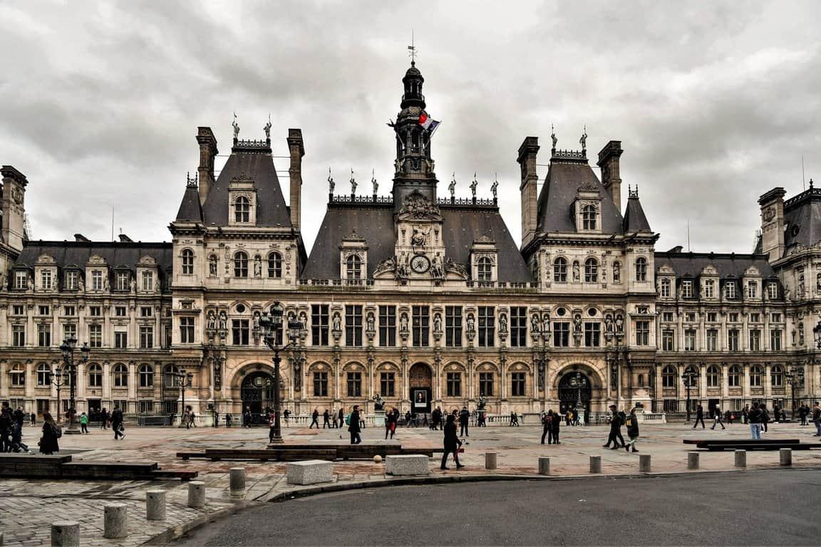 כיכר העירייה של פריז. צילם: יואל פריז
