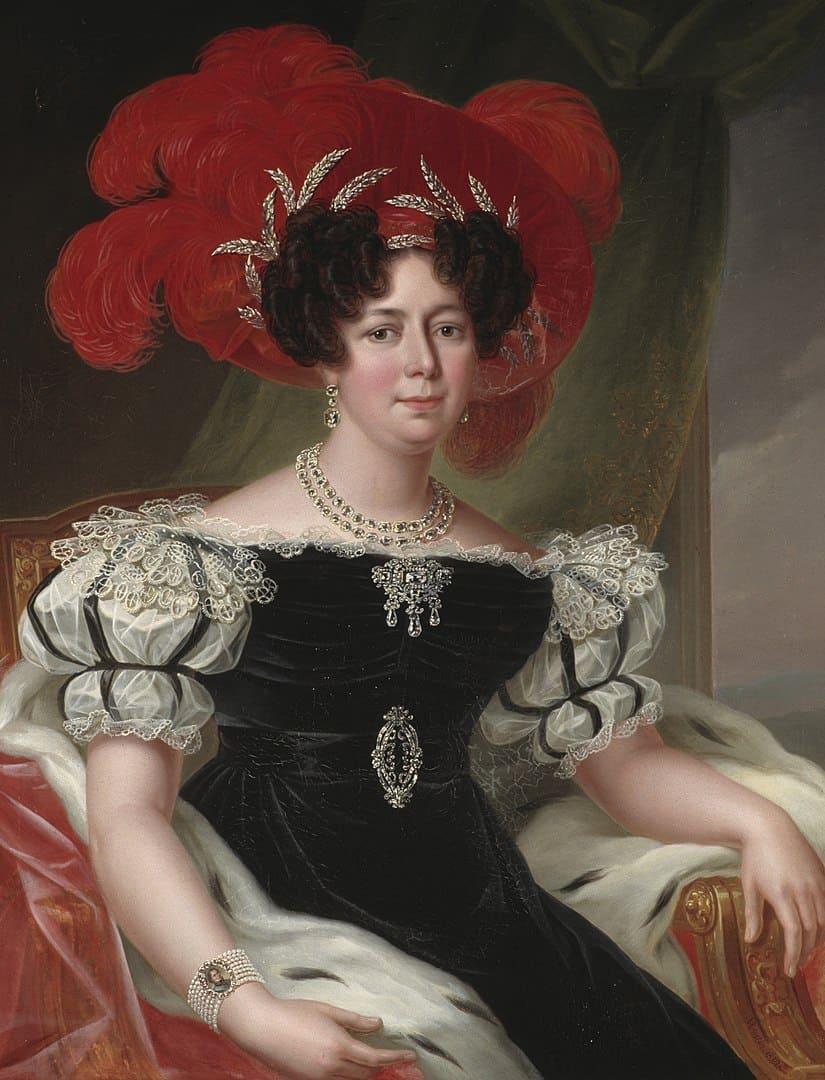 דזירה קלרי. פורטרט משנת 1830. מקור ציור: ויקיפדיה.