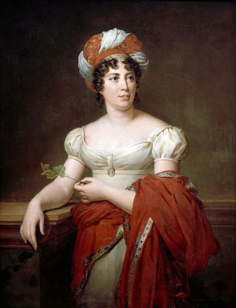 מדאם דה סטאל - פורטרט מאת פרנסואה ז'ראר. מקור תמונה: ויקיפדיה.