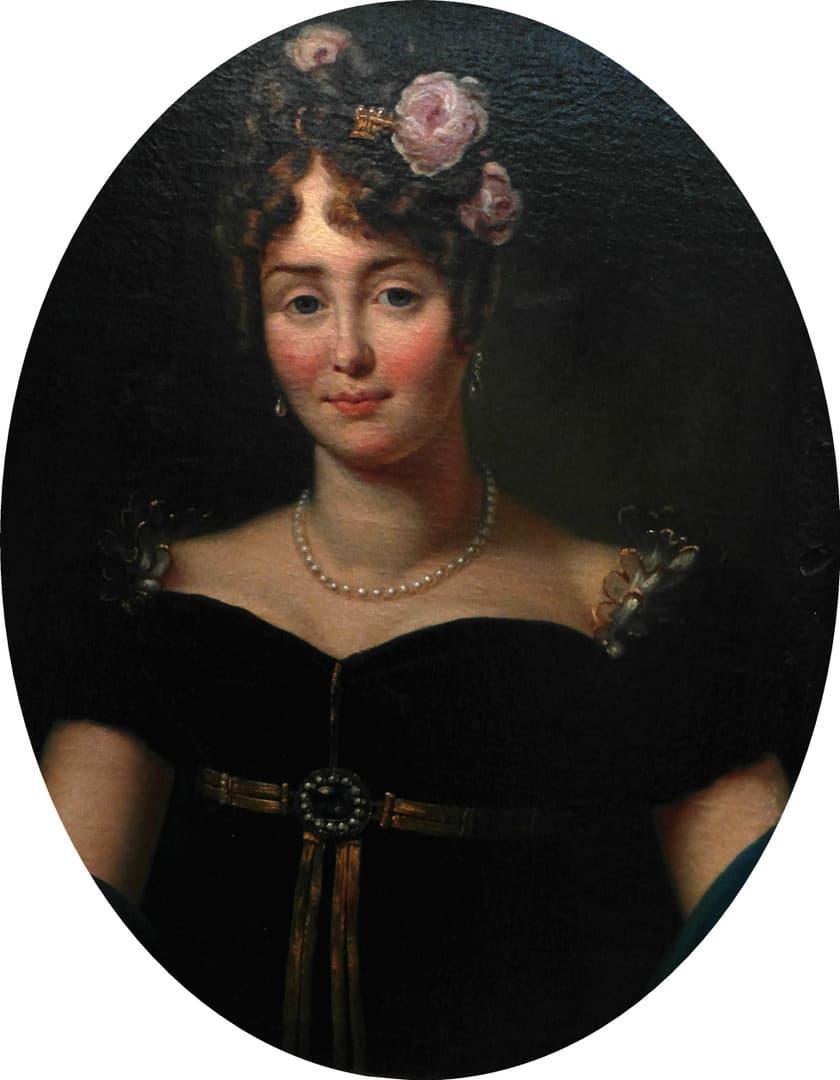 פורטרט של מריה ולבסקה מאת פרנסואה ז'ראר. מקור תמונה ויקיפדיה.