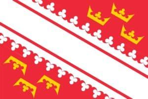 הדגל של מחוז אלזס. מקור: ויקיפדיה