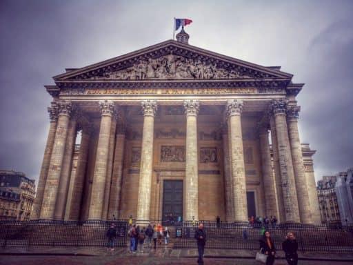 הפנתאון - המקברה החילונית של גדולי צרפת