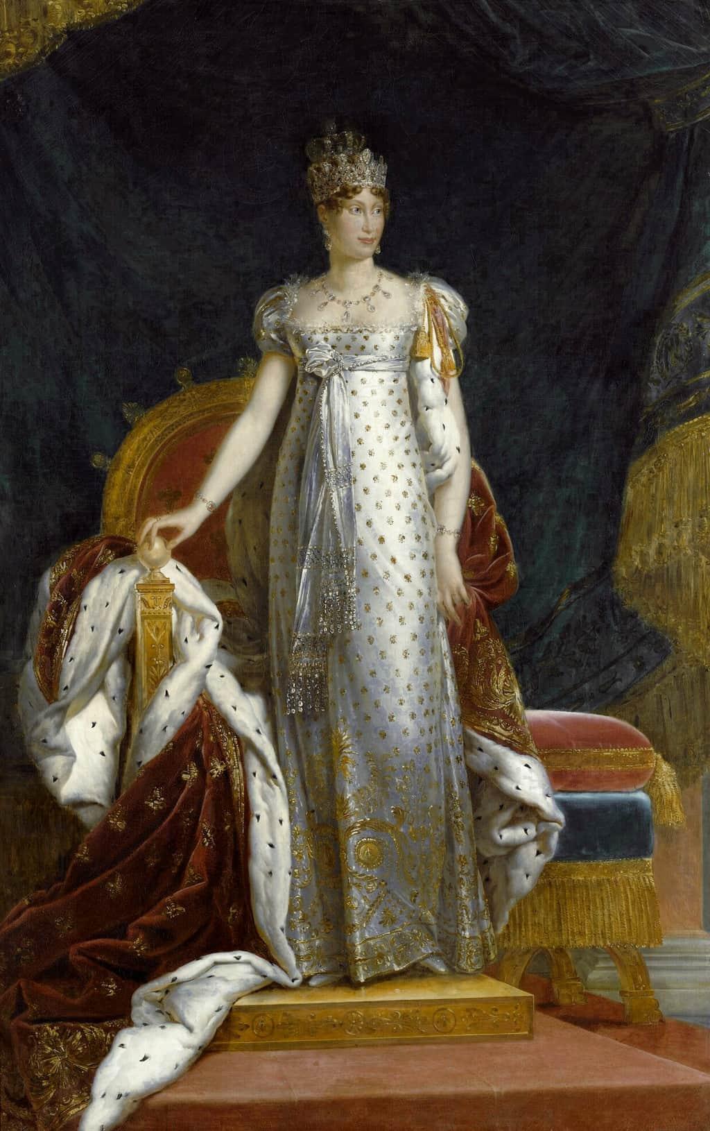 פורטרט של מארי לואיז מאוסטריה בלבוש הקיסרית. מקור תמונה: ויקיפדיה.