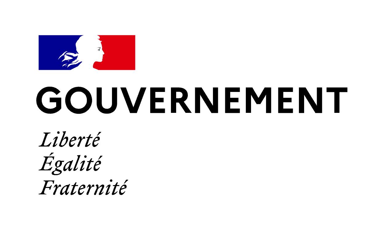 הלוגו הרשמי של ממשלת צרפת. מקור תמונה: ויקיפדיה.
