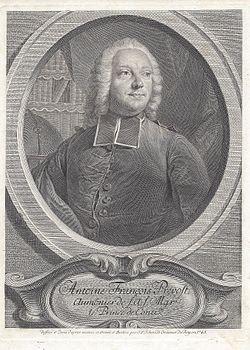 האב פרבו (1697-1763). מקור צילום: ויקיפדיה