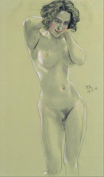 עירום נשי (מקור צילום: ויקיפדיה)