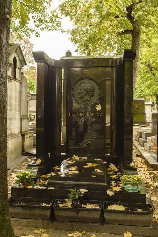 קברו של ברליאוז. צילם Son of Groucho. מקור צילום: ויקיפדיה.