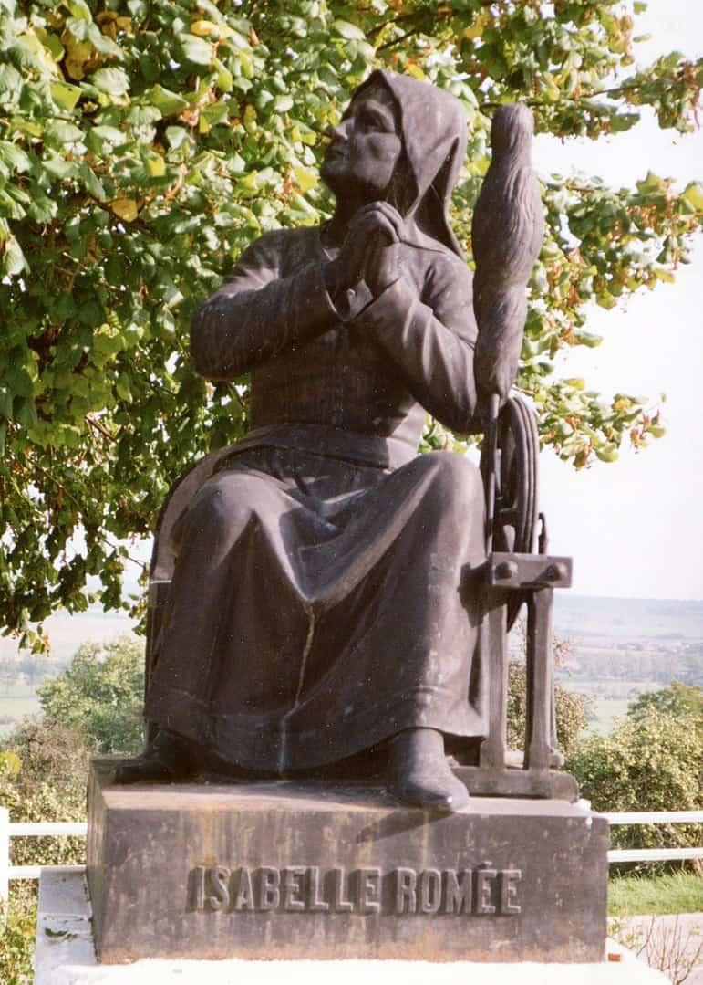 איזבל רומה. אמה של ז'אן דארק.