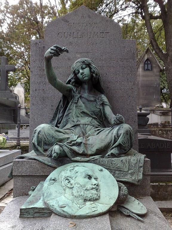קברו של גוסטב גיומה. צילם Sichersicher. מקור צילום: ויקיפדיה.