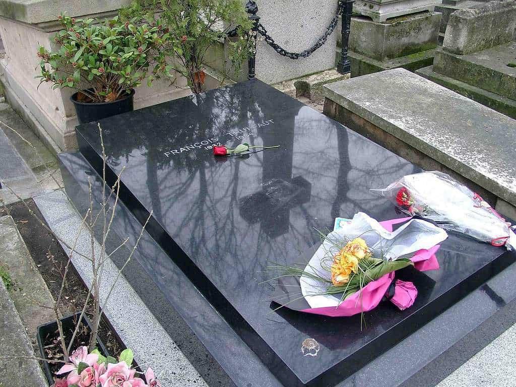 קברו של פרנסואה טריפו.