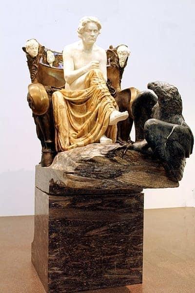 """""""בטהובן"""" במוזיאון לאמנויות יפות בלייפציג (מקור צילום: ויקיפדיה)"""
