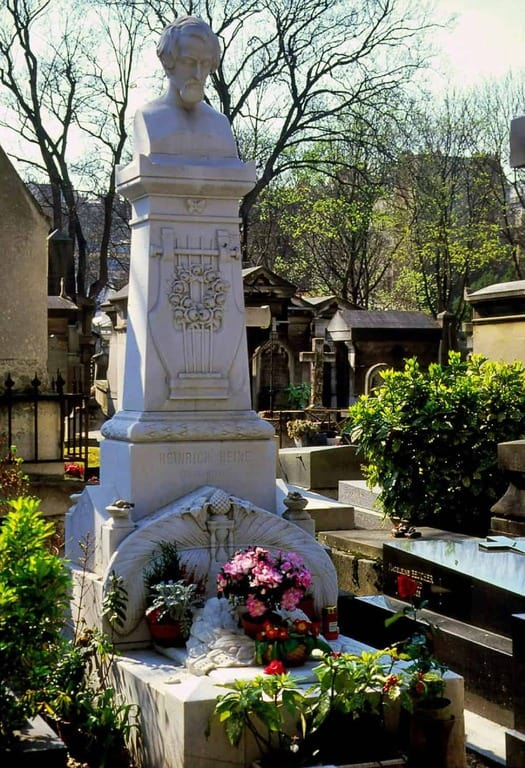 קברו של היינריך היינה. צילמה: רותי שמעוני.