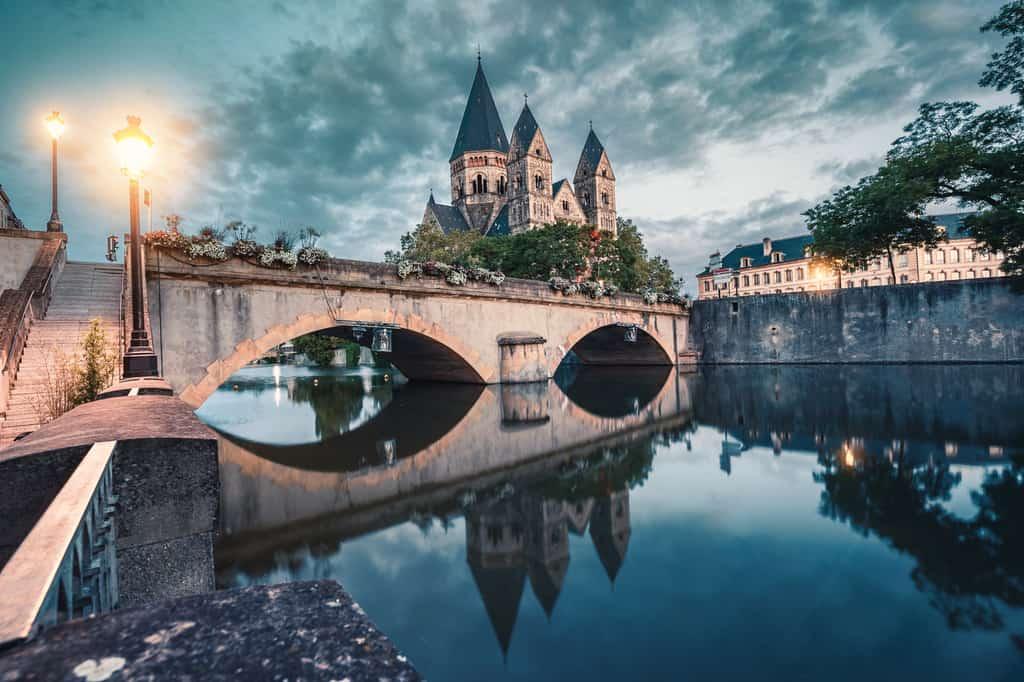 העיר מץ (Metz)