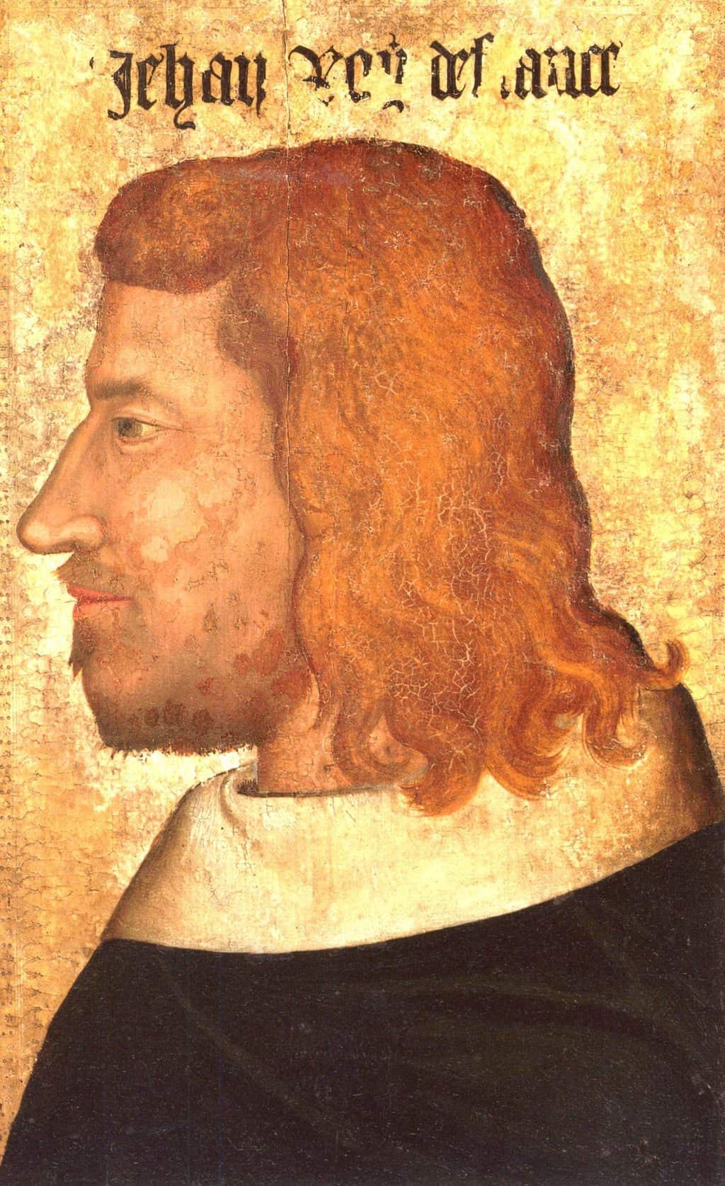 ז'אן ה-2 מלך צרפת. מקור ציור: ויקיפדיה.