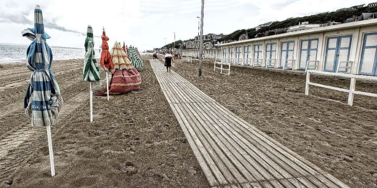 החוף המפורסם של טרוביל