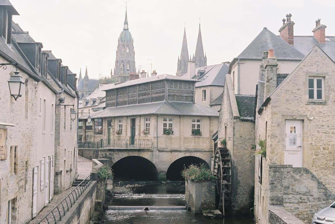 המרכז ההיסטורי של העיר Bayeux