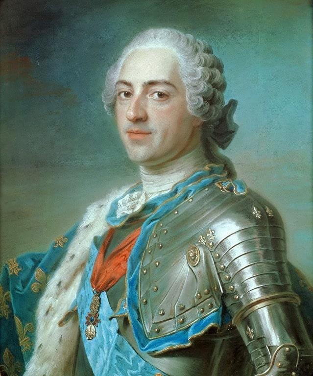 לואי ה-15 מלך צרפת. מקור תמונה: ויקיפדיה.