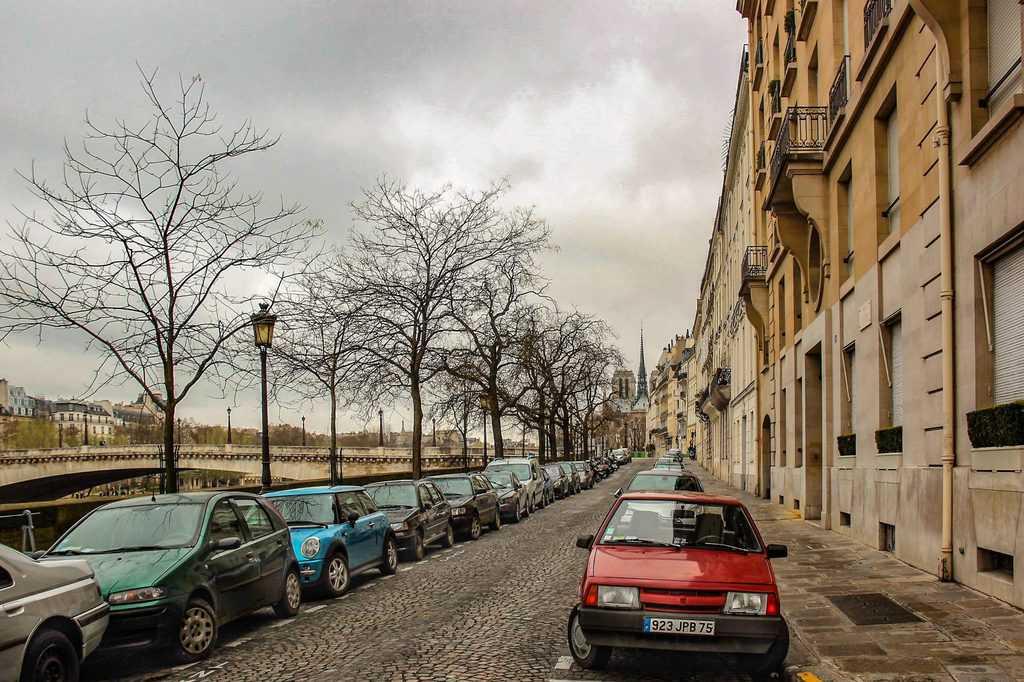 Quai de Béthune, מקום מגוריה של מארי קירי. צילום: יואל תמנליס
