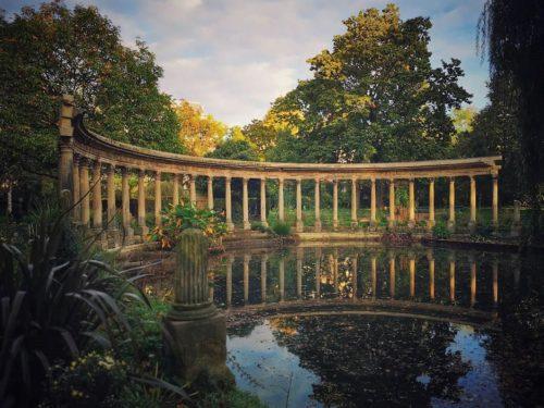 פארק מונסו (Parc Monceau) - טיול בגן האהוב עלי בפריז