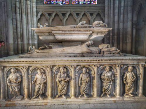 בזיליקת סן דני - מקום קבורתם של מלכי צרפת (או לפחות של רובם)