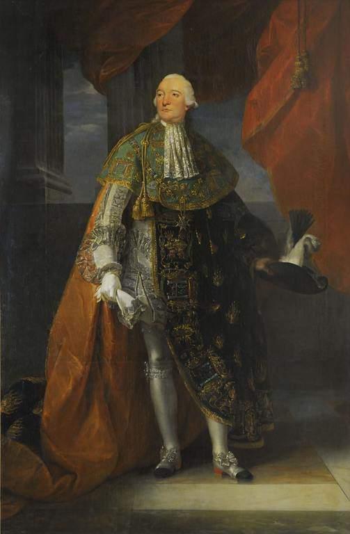 לואי פיליפ הדוכס משארטר, אשר מאוחר יותר יהפוך לדוכס מאורליאן. צייר: פרנסואה קלה (François Callet) מקור ציור: ויקיפדיה.