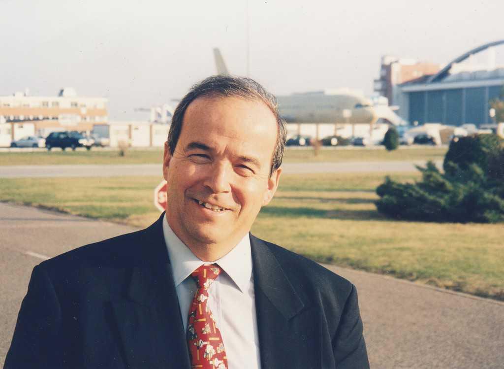 האסטרונאוט הצרפתי פטריק בודרי, לשעבר שותפו של מארק מנו, מפעל אירבוס בטולוז. צילם אביטל ענבר